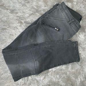 Grey Zara skinny jeans